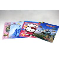 China 4/4C Fancy Paper Saddle Stitch Book Binding , Full Color Offset Printing on sale