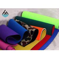 Quality Waterproof Neoprene Fabric Sheets Polyethylene Rubber Sheet For Sports Products for sale