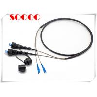 Buy cheap Waterproof Outdoor Fiber Patch Cord Armored FTTA SC LC Patch cord from wholesalers