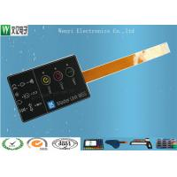 Quality 3 Keys FPC Membrane Switch Keypad / Embossing Custom Membrane Switches for sale