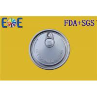 China Steel EOE Lid 307# 83mm Pop Top Can With Safe Rim , Beer Canned Food on sale