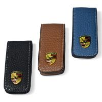 Quality suitable business leather key wallet , key holder for sale