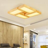 Quality Wood effect ceiling lights For Indoor home Lighting Fixtures (WH-WA-01) for sale