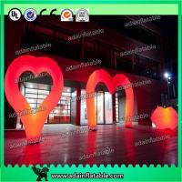Quality Valentine'S Day Decorative Inflatable Lighting Balloon Colorful Love Letters Shaped for sale