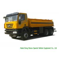 Quality IVECO Chassis Liquid Tank Truck For Gasoline / Petrol /Diesel Delivery 22000L for sale