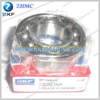 Quality Self-Aligning Ball Bearing SKF 1205ETN9 25X52X15mm with Cylindrical Bore for sale