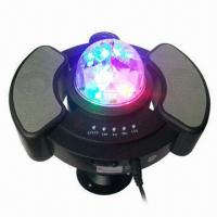 Quality RGB MP3 Music Player with LED Stage Light 128M TF Card for sale