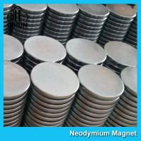 Quality Strong Disc NdFeB Rare Earth Neodymium Magnets 10mm X 1mm Custom Shaped for sale