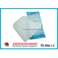 China Wet Nonwoven Exfoliating Hand Gloves For Medical , Baby Wipe Gloves on sale