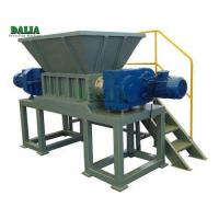 Quality Steel / Plastic Single Shaft Shredder Machine 45KW Power Reliable Utilization for sale