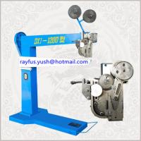 Quality Manual Pedal Carton Box Stitching Machine Oblique Double Staple Easy Operation for sale