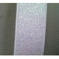 Quality Reflective nylon Woven Elastic Webbing for clothing and belt 3.2cm for sale