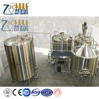 small beer brewery equipment  beer brewing making machine Product Description ZH- craft beer brewing equipment Appli