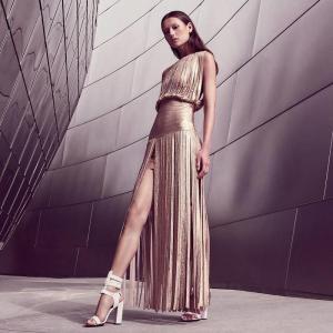 Quality Western Style Spaghetti Strap Bandage Dress Backless Elegant For Modern Girls for sale