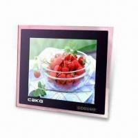 Quality 15-inch Multi-functional Digital Photo Frame with Stereo Audio Output and Wall Hanging for sale