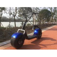 Quality ISO9001 City Road 2 Wheel Citycoco E Scooter With EEC Certificate for sale