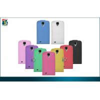 Quality Flip Leather Samsung Galaxy Protective Cases Galaxy S4  Smooth  Durable PU for sale