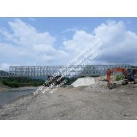 Quality Prefabricated Steel Bailey Bridge Modular Designed Compact Panel Assembly for sale