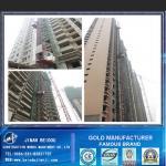 Alzamiento del pasajero/elevación de la construcción/elevador de la construcción