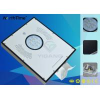 China 120 Degree PIR Sensor All In One Solar Panel Street Lights With Lithium Battery on sale