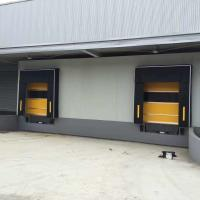 Quality Pvc Fabric Mechanical Loading Dock Shelters Widely Used For Industries for sale