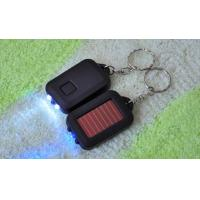 Buy cheap 3 LED Mini Solar Flashlight Fashion Keychain Interesting Toy from wholesalers