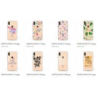 Quality Bumper TPU Phone Case Cover Different Patterns Anti Shock For Iphone 8 Plus X for sale