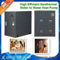 Quality Portable 8.2kw Mini Geothermy Water to Water Heater Pumps to Heated Floor or Residential Hot Water for sale