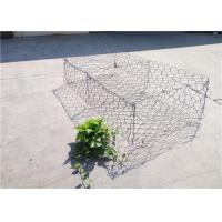 Quality Flood Protection Heavy Duty Woven Gabion Baskets Hexagonal Or Square Shape for sale
