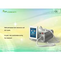 China Pain Free 808 Diode Laser Hair Removal Equipment For Underarm / Leg / Breast on sale