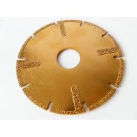 """Quality 4.5"""" / 115mm Electroplated Diamond Disc Cutter Blades With U Slots For Circular Saw for sale"""