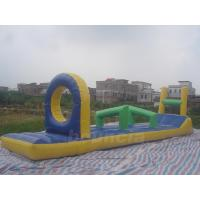 China PVC Tarpaulin Inflatable Water Sports Equipment / Inflatable Pool Obstacle on sale