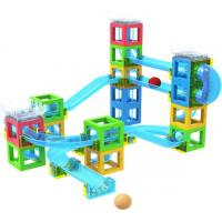 China STEM Toy Magnetic Block with Running Ball on sale