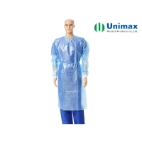 Quality AAMI PB70 Level 2 Disposable Isolation Gowns for personal care for sale