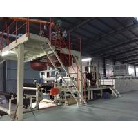 Buy cheap Bitumen Backed Carpet Tiles Production Line Contious With Slitting Cutter from wholesalers