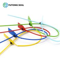 Buy cheap YTPS 103 70cm length Factory Pull Tight Barcode Plastic Strap Seals Lock from wholesalers