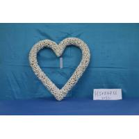 wood adornment in heart-shape with competitive price ,a good home decoration