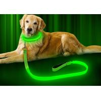 Buy cheap 47.2 Inch LED Dog Necklace Collar , Glowing Dog Collars Reflective Glow In The Dark from wholesalers