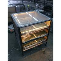 China China Mirror Stainless Steel Counter Fabrication Metal Designs Manufacturer In Foshan on sale