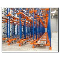 Quality Electric Movable Pallet Rack Storage Systems With Color Powder Coated Finish for sale