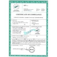 CHINA DESEO GROUP LIMITED Certifications