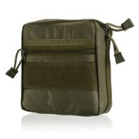 Quality Outdoor MOLLE Tactical Military Pouch Army Green Multi-Purpose molle gear pouch for sale
