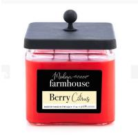 Buy Glass Candle Jar Natural Aromatherapy Candles Home Scents Candles With Square Wooden Lid at wholesale prices