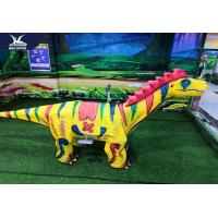 220V Motorized Animatronic Animals For Amusement Park / Outdoor Dinosaur Statues