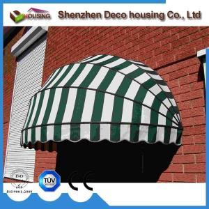China Manual window dome awning/Half round awning/Aluminum awning window on sale