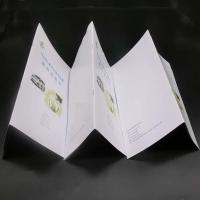Quality Offset Paper Saddle Stitched Booklet With Glossy / Matte Lamination for sale