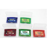 China Cheaper Game for GBA :Pokemon Emerald ,fire red, ruby,sapphire,leef green mix order on sale