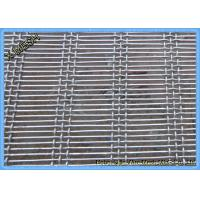 Quality 65mn Carbon Steel Long - Slot Hog Flooring Wire Mesh for sale