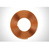 China Anticorrosive 5/16 Copper Refrigeration Tubing Soft Annealed Pancake Coil Type on sale