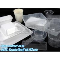 Quality Airtight leakproof microwave custom rectangle plastic meal compartment bento lunch box food storage container with FOOD for sale